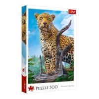 Пазли Trefl Дикий леопард 500 шт (37332)