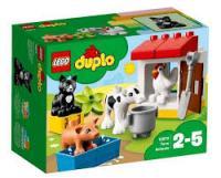Конструктор LEGO DUPLO Тварини на фермі 16 деталей (10870)