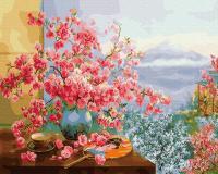Картина за номером Весна в Японії 40х50см RainbowArt gx27370