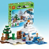 """Конструктор Bela """"Minecraft"""" (10391) Сніговий притулок 327 деталей"""