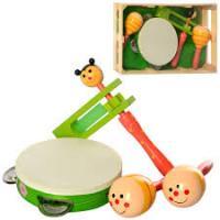 Дерев'яна іграшка MD2353 Музичні інструменти