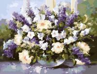 Картина за номерами Весняний букет 40х50 см Brushme G053