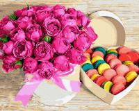 Картина за номерами Квіти і солодощі, Rainbow Art (GX28615) 40х50 см