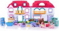 Великий набір - Ляльковий будиночок з аксесуарами 22002