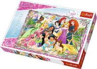 Пазли Trefl Зустріч Принцес. Disney Princess, 260 елементів (13242)