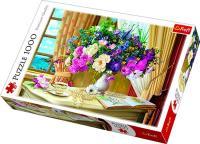 Пазли Trefl Ранкові квіти 1000 елементів (10526)