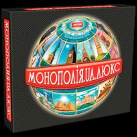Настільна гра «Монополія Люкс»