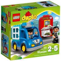 Конструктор LEGO Duplo Поліцейський патруль (10809)
