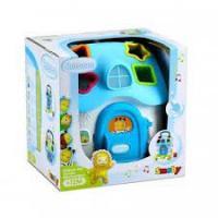 Іграшка-сортер Smoby Cotoons Будинок зі світлом і звуком, блакитний (110403)