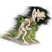 """Дерев""""яний 3D пазл Дилофозавр"""