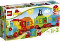 Конструктор LEGO DUPLO Потяг Рахуй і грай 23 деталі (10847)