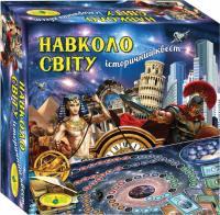 Настільна гра Київська Фабрика іграшок Навколо світу