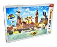Пазли Funny Cities Собачки у Лондоні (1000 елементів) Trefl 10596