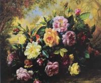 """Алмазна мозаїка """"Квітучий кущ"""" GB70720"""