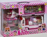 Ігровий набір Швидка допомога LOL з лялькою і транспортом, K5621