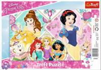 Пазли рамкові Trefl Чарівні принцеси, 15 елементів (31352)