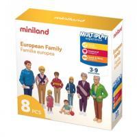 Набір фігурок Miniland сім'я