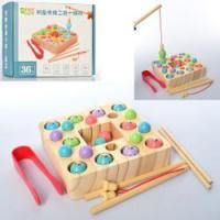 Дерев'яна іграшка Рибалка MD 2214 магнітна, 2 вудки