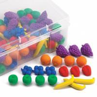 """Набір фігурок для сортування """"Фрукти і ягоди"""" (108 шт) EDX Education"""