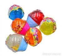 Лизун-антистрес ТМ Mr.Boo Морозиво з глітером і пінковими кульками 70г (80059)
