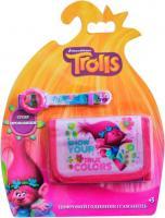 Набір цифровий годинник з гаманцем Тролі TBL (TRL31846)