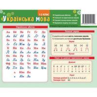 Картонка-підказка Абетка Українська мова 20*15 см Зірка 66439