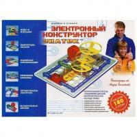 Електронний конструктор Знаток  (180 схем) REW-K003