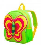 Рюкзак 3D-BAG Зелена Метелик NO27366