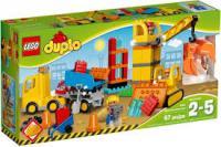 Конструктор LEGO DUPLO Велика будмайданчик (10813)