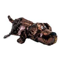 М'яка іграшка ZooPrяtki Лабрадор-кіт з паєтками 2в1 30 см (518IT-ZPR)