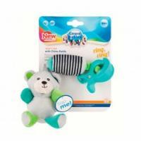Canpol babies Іграшка плюшева з дзвіночком bears 0 + сіра 68/054
