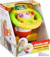 Іграшка на присоску Kiddieland Розумне кермо зі світлом і звуком (058305)