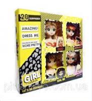 """Набір бюстів для зачісок """"Girl fashion"""" LK1018"""