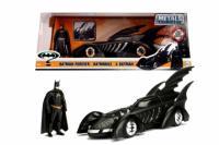 """253215003 Машина металева Jada """"Бетмен назавжди (1995)"""" Бетмобіль з фігуркою Бетмена"""