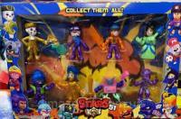 Ігровий набір Brawl Stars Герої 8 шт Бравл Старс 200799