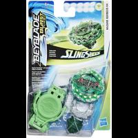 Hasbro. Ігровий набір Вовчок Бейблэйд СлингШок і пусковий пристрій (E4736) (E4603)