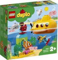 Конструктор LEGO DUPLO Подорож субмарини 24 деталі (10910)