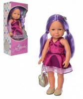 Інтерактивна лялька Limo Toy M 5407-08 UA Purple