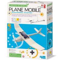 Набір для досліджень 4M Літак на сонячній батареї 00-03376