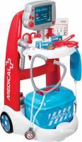Візок медичної допомоги Smoby з обладнанням і аксесуарами (340202)
