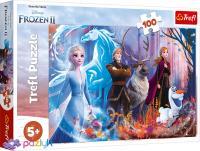 """Пазл """"Крижане серце-2. Магія крижаної землі"""", 100 елементів Trefl Disney Frozen 2 (16366)"""