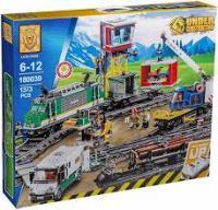 Конструктор Lion King «City» (180039) Товарний потяг, Аналог Сіті 60198