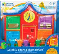 Learning Resources - розвиваючий бізіборд Цікава школа LER7736