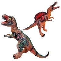 Динозавр гумовий YD 222-223-224-225-226 (96/2) видає звуки, 3 види