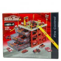 """Парковка Six-Six-Zero """"Пожежна станція"""", з ящиками для зберігання 660-A155"""