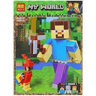 "Конструктор Bela ""Minecraft"" (11166) Стів з папугою"