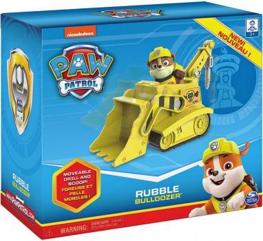 Щенячий патруль бульдозер Здорованя Paw Patrol Rubble's Bulldozer 6054970