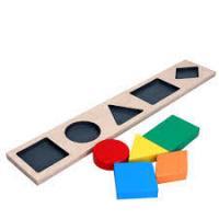 """Рамка-вкладиш """"геометричні фігури 5"""" A326"""