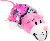 М'яка іграшка ZooPrяtki з паєтками 2 в 1 Кіт-миша 12 см (552IT-ZPR)