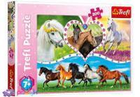 """Пазли Trefl 16387 """"Красиві коні"""" 200 елементів (13248)"""